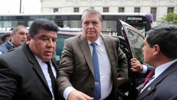 Dos senadores y dos diputados del Frente Amplio de Uruguay coinciden en señalar que no existen elementos para conceder el asilo a Alan García. (Foto: EFE)