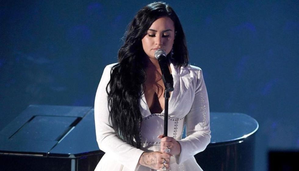 Demi Lovato volvió a los escenarios con emotiva presentación en los Grammy 2020. (Foto: @recordingacademy)