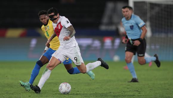 Posible alineación de Perú vs. Brasil por las Eliminatorias Qatar 2022 | Foto: EFE
