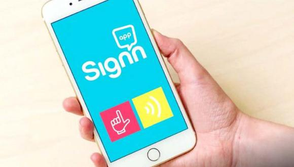 Con esta app se puede aprender el lenguaje de señas. (Foto: Sign'n)