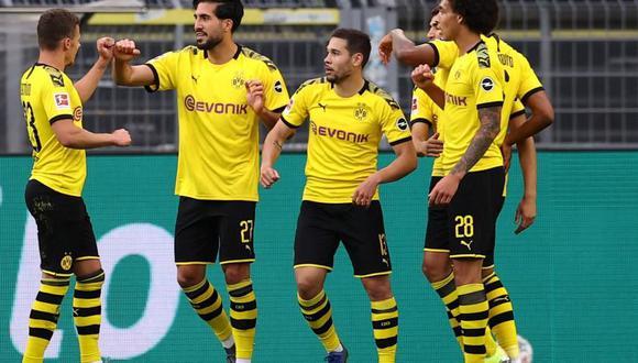 Borussia Dortmund venció al Hertha y se mantiene como escolta del Bayern Múnich. (Foto: AFP)