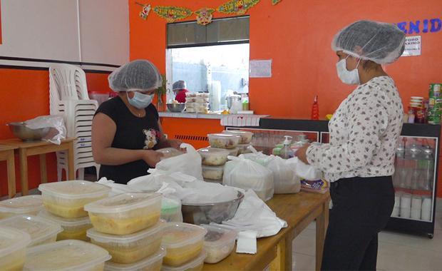 Las madres de familia que viven en los caseríos de Huamachuco también han encontrado oportunidades laborales.
