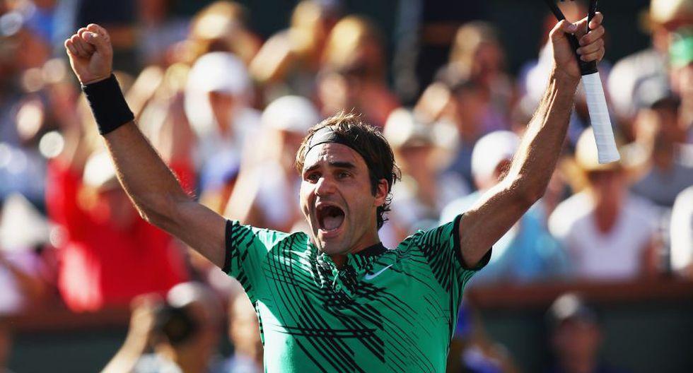 Federer se consagró otra vez en Indian Wells: fotos de la final - 12