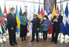 Pedro Castillo llega a México para cumbre presidencial