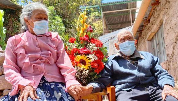 Don Rafael Sanjinez Mamani a sus 109 años de edad es el hombre más longevo de la región Moquegua (Foto: Midis)