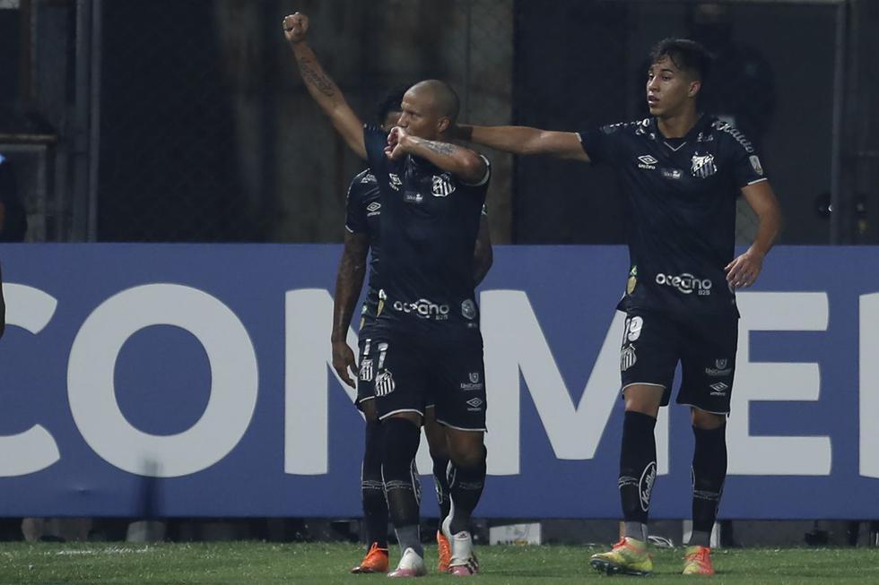 Olimpia y Santos se enfrentaron por la quinta fecha del Grupo G de la Copa Libertadores 2020. (Foto: AFP)