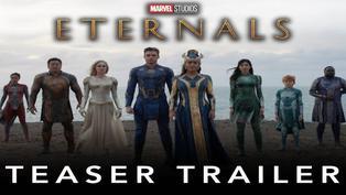 "Mira aquí el tráiler de la película ""Eternals"""