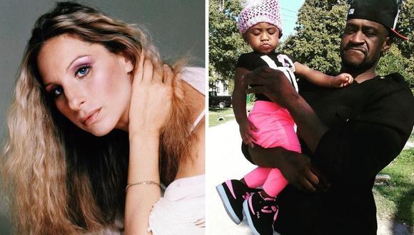 La hija de George Floyd, Gianna, agradeció el hecho de la cantante en sus redes sociales. (@giannapinkfloyd_ / @barbrastreisand).