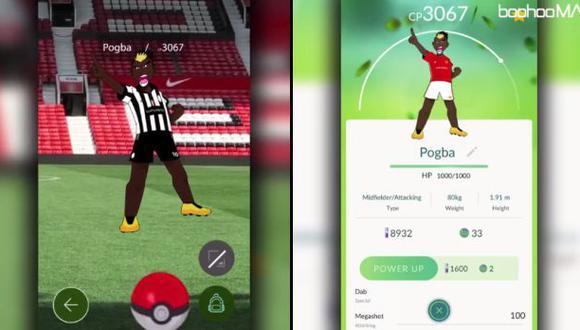 La llegada de Pogba a Manchester al estilo de Pokémon Go