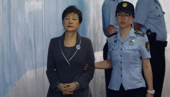 Park Geun-hye fue presidenta de Corea del Sur desde 2013 hasta su destitución en 2017. (Foto: AP)