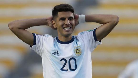 Exequiel Palacios se volvió a lesionar jugando en el Bayer Leverkusen. (Foto: AFP)