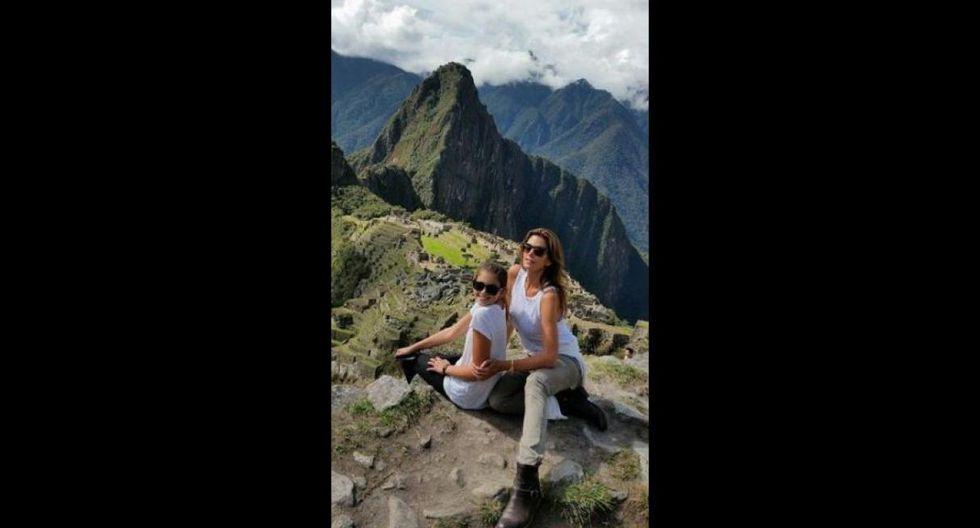 Cindy Crawford. La modelo pisó suelo peruano en setiembre del 2014. Aunque llegó de incógnita a Machu Picchu, fue reconocida inmediatamente por sus seguidores. (Foto: Instagram @cindycrawford)