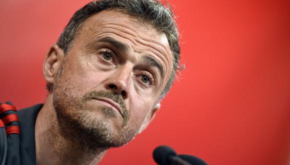 Luis Enrique también ha sido seleccionador de España. (Foto: AFP)