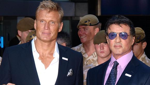 Tres de las principales cadenas de televisión de EE.UU., Fox, CBS y NBC, han mostrado su interés por la nueva serie de Dolph Lundgren y Sylvester Stallone (Foto: AFP)