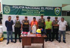 Barranco: capturan a sujetos que asaltaron casa tras hacerse pasar como obreros de Sedapal