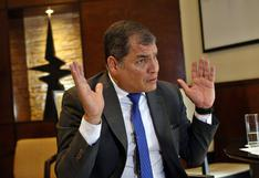 Las cuentas pendientes de Rafael Correa con la justicia de Ecuador