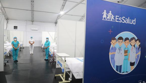 Madre de Dios: ponen en funcionamiento nueva villa para atender a pacientes COVID-19 (Foto: EsSalud).