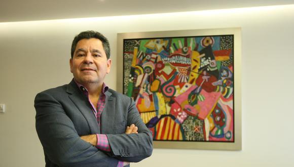 Carlos Añaños dijo que estaría confirmando su candidatura como segundo vicepresidente de Hernando de Soto en los próximos días. (Foto: GEC)