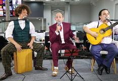 """Los Juanelos en una mini sesión acústica desde """"El Comercio"""""""
