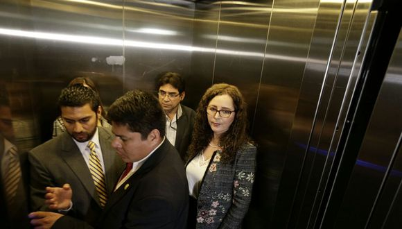 Rosa Bartra, presidenta de la Comisión Lava Jato, dijo que el testimonio de PPK será vital para sus investigaciones. (Foto: Anthony Niño de Guzmán/ El Comercio)