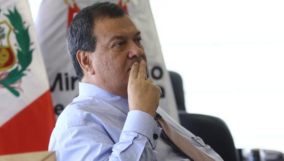 Ministro de Defensa, Jorge Nieto. (Foto: Archivo El Comercio)