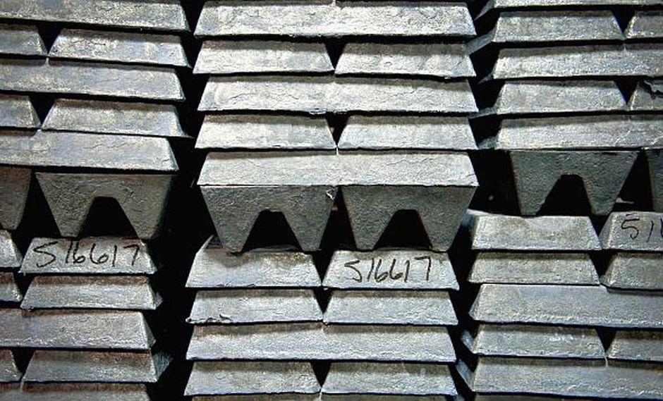 El precio del zinc tocó un mínimo de tres semanas, aunque registra un crecimiento de cerca de un 15% en lo que va de año. (Foto: AFP)