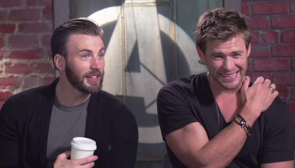 """""""Los Vengadores"""": mira a los actores reconociendo sus músculos"""