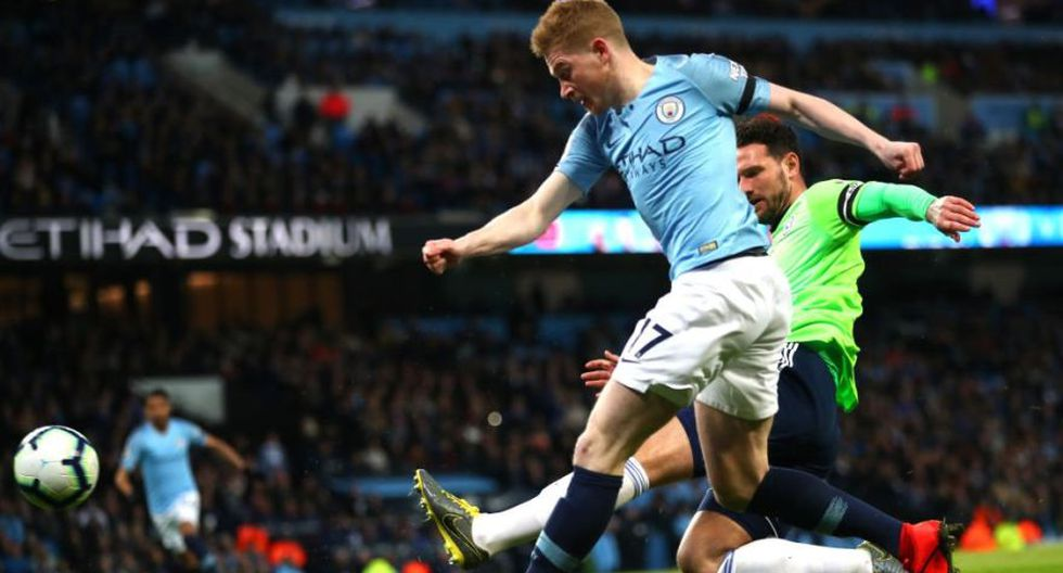Kevin De Bruyne fue el autor del 1-0 en el Manchester City vs. Cardiff City por una nueva jornada de la Premier League (Video: YouTube)