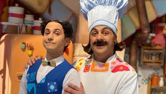 """Diego Topa estrenará la serie """"El Ristorantino de Arnoldo"""" en la plataforma. (Foto: Disney+)"""