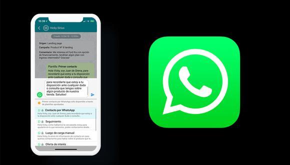 """¿Sabes por qué nunca debes ingresar al mensaje que dice """"Saludos de WhatsApp""""? Conoce todas las razones. (Foto: WhatsApp)"""