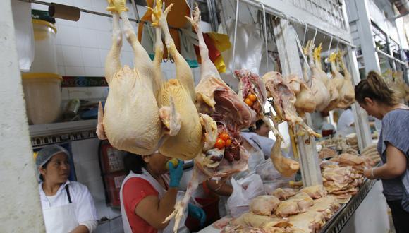 El subsector pecuario se vio impulsado por la mayor producción de pollo. (Foto: Miguel Bellido / GEC)