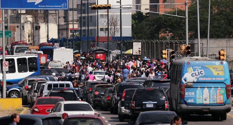 Nuevo apagón desata el caos en Caracas y varias zonas de Venezuela. (Reuters).