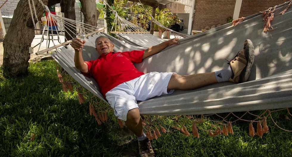 Los ancianos en Lunahuaná se mezclan con la población mayoritariamente juvenil y los turistas ansiosos de emociones fuertes. (Foto: Luis Miranda)