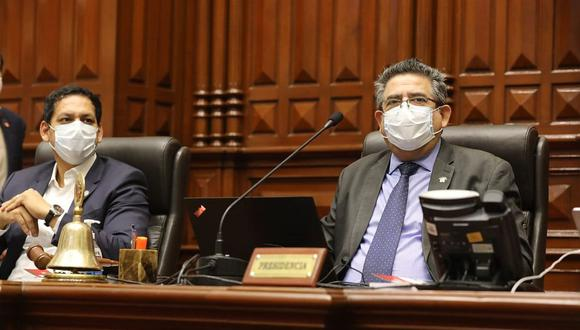 Manuel Merino, presidente del Congreso, convocó a pleno para este martes a partir de las 8.30 am. (Foto: Difusión)