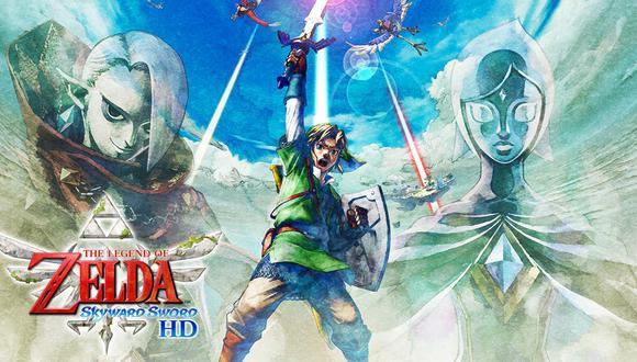 The Legend of Zelda: Skyward Sword HD es el nuevo videojuego de Nintendo. (Imagen: Nintendo)