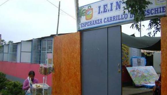 Los trabajadores varones de la Institución Educativa Inicial Esperanza Carrillo de Peschiera están bajo investigación. (Foto: UGEL Chincha)