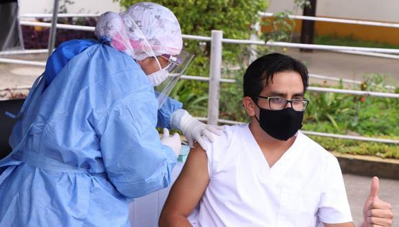 Amazonas ha recibido 264 dosis de vacunas contra el COVID-19 para que el personal de la primera línea esté debidamente protegido. (Foto: Gore Amazonas)