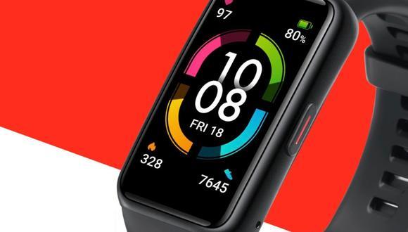 Conoce más detalles del reloj inteligente deportivo, la Honor Band 6. (Foto: Honor)