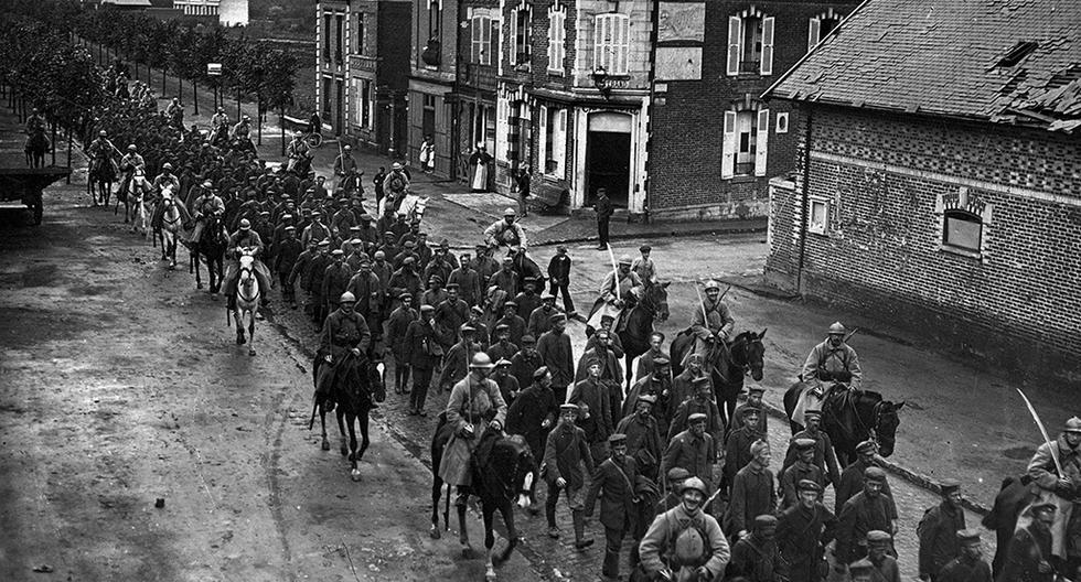 El 11 de noviembre de 1918, El Comercio anunció el fin de la Primera Guerra Mundial. Esto desató la alegría en varios lugares del país. Por eso, el Gobierno declaró dos días como feriados no laborables. (Foto: El Comercio)