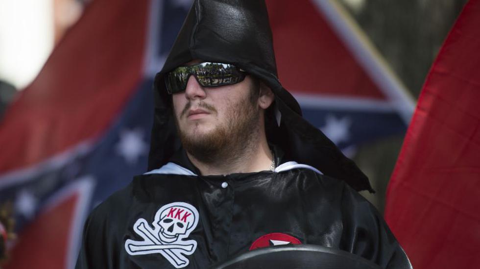 """El Ku Klux Klan, que se proponía reunir a los """"auténticos"""" estadounidenses y protegerlos de las supuestas influencias nociva provenientes del extranjero, llegó incluso a ser discretamente apadrinado por algunos presidentes estadounidenses. (Foto: AFP)"""