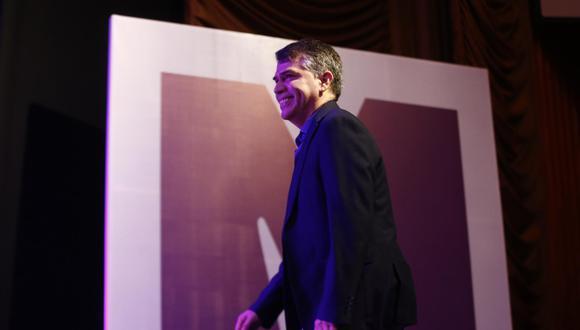 """Julio Guzmán afirmó que """"en ningún momento"""" su relación con la militancia del Partido Morado """"se rompió"""". (Foto: GEC)"""
