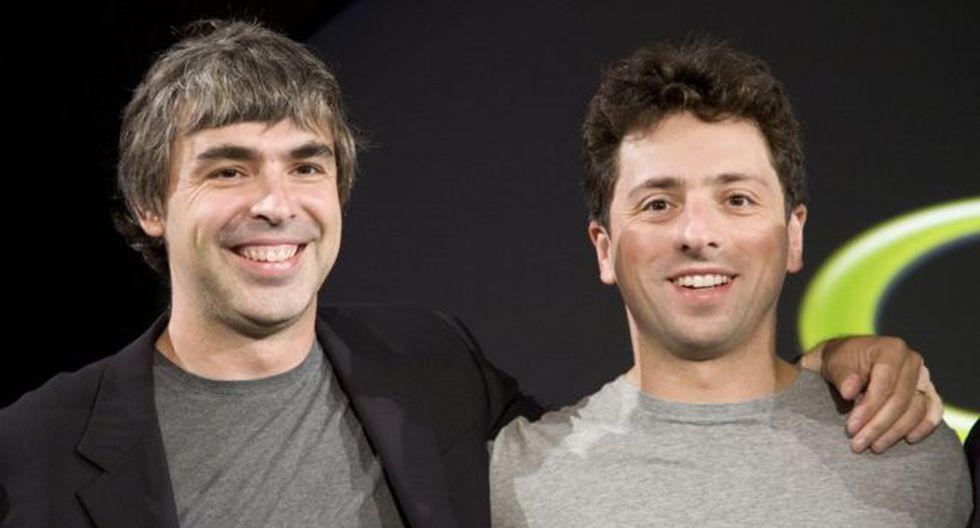 Larry Page y Sergey Brin fundaron Google hace 21 años. (Foto: Getty Images)