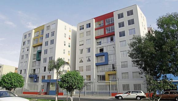 Medidas de prevención contra el coronavirus en edificios multifamiliares. (Foto: Juan Francisco Melgar / El Comercio)