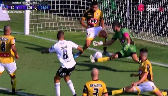 Colo Colo vs. Coquimbo Unido: Gabriel Costa y el 1-1 tras una sutil definición dentro del área | VIDEO