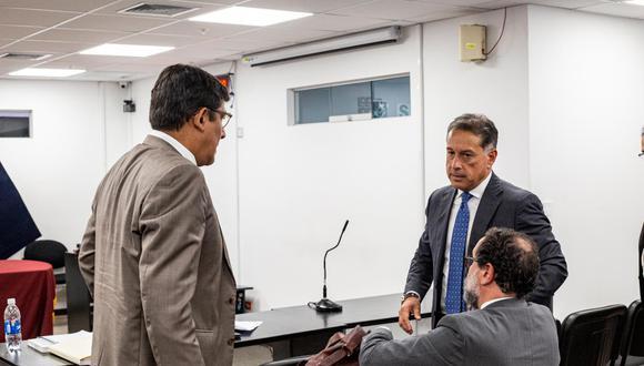 El empresario chileno Gerardo Sepúlveda (der.) fue incluido por el fiscal José Domingo Pérez en la investigación por las presuntas irregularidades en la IIRSA Sur como cómplice de colusión agravada. (Foto: GEC)
