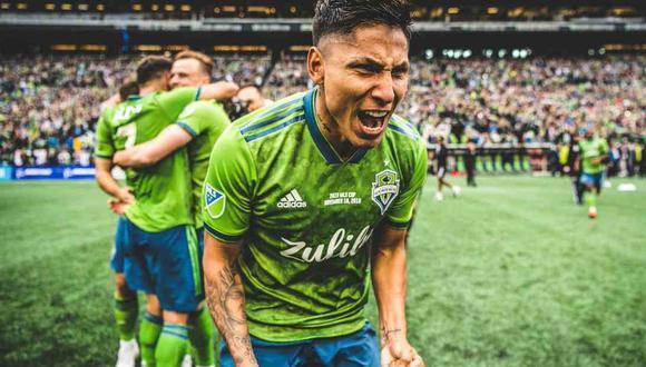 La MLS no quiere ceder jugadores a las selecciones sudamericanas para el inicio de las Eliminatorias. Perú tiene siete convocados de la liga de los Estados Unidos, siendo uno de ellos Raúl Ruidíaz, goleador del Seattle Sounders. (Foto: @SoundersFC)