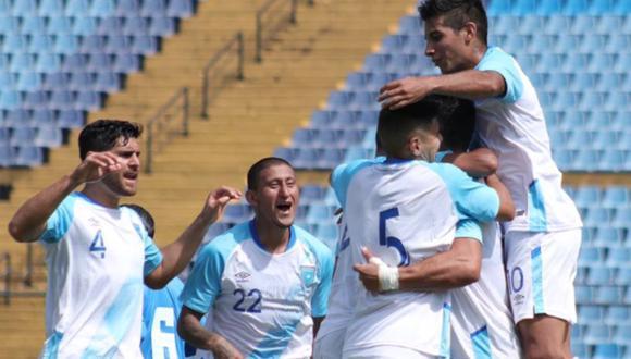 Guatemala venció 2-1 a Honduras en amistoso FIFA disputado en el Estadio Doroteo Guamuch Flores