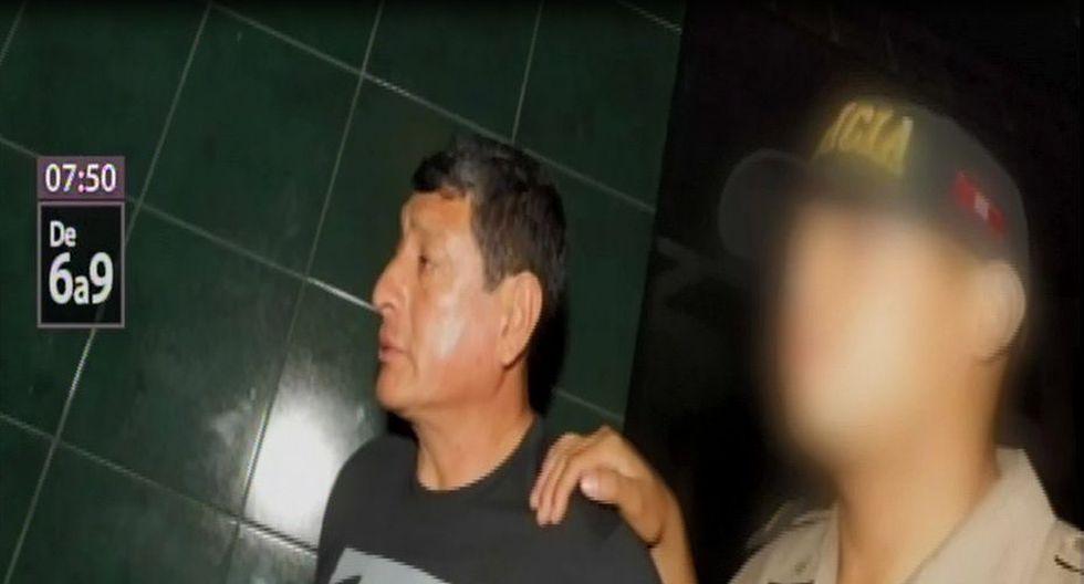 Suboficial superior PNP Enrique Alvarado Palacios provocó accidente en Los Olivos, el pasado 23 de enero. (Captura: Canal N)