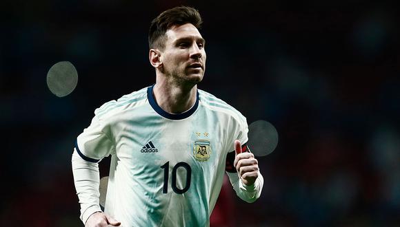 La AFA dejará de percibir casi medio millón de euros por la ausencia de Lionel Messi ante Marruecos. (Foto: AFP)
