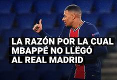 La razón por la cual Kylian Mbappé no concretó su llegada al Real Madrid